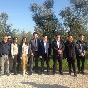 Delegazione ad Aprilia