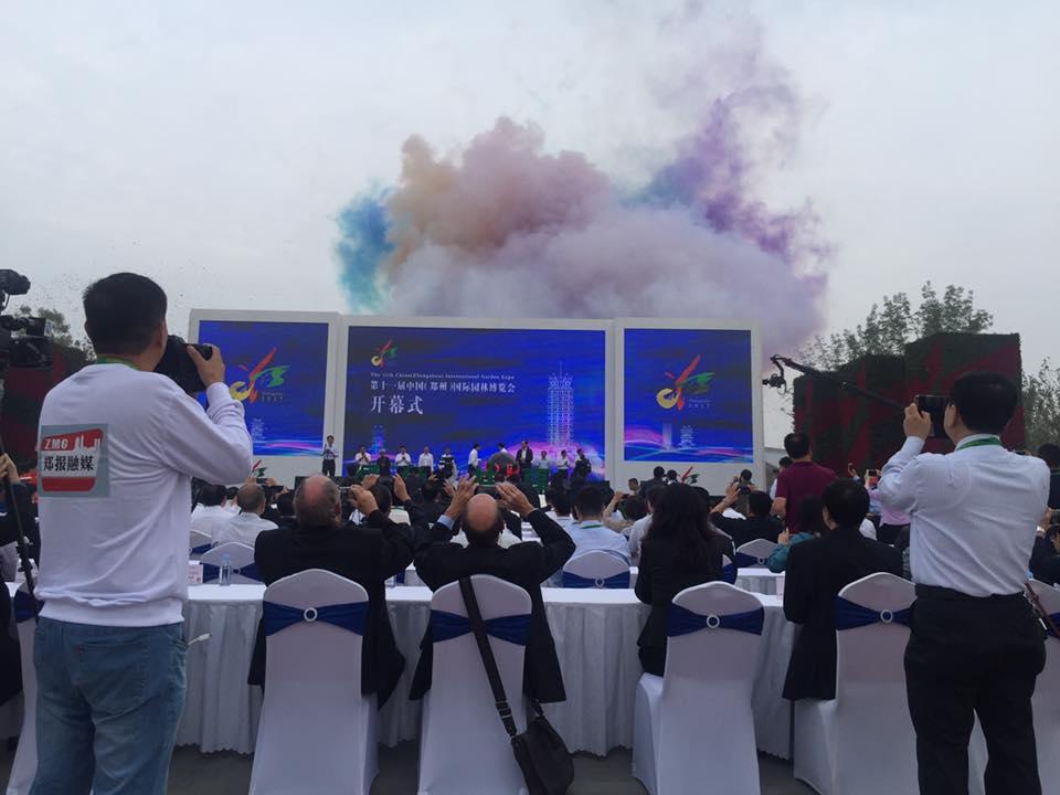 Cerimonia Apertura Expo Pavilion